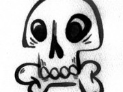Skully with Noise