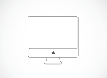 iMac illustratie