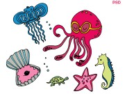 Under Sea Animals
