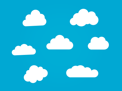 Awesome cloud shapes