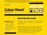 'Colordirect' Email Template PSD by Mike Kus
