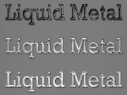 Liquid Metal FX Text Styles