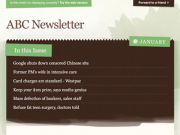 'Natural' Email Template PSD by Newism