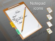 Notepad icons
