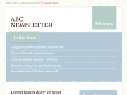 'Soft' Email Template PSD by Newism