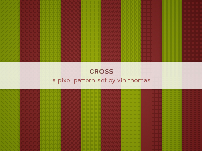 Cross Pixel Patterns