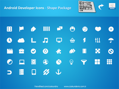 Android Icons – Shape Pack