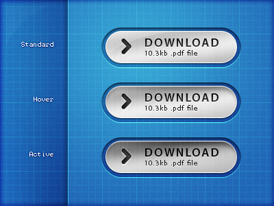 Brushed Metal Download Buttons