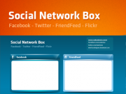 Social Network Blog Box [.PSD]