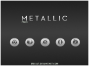 Metallic Icons