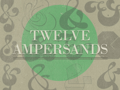 12 Ampersands