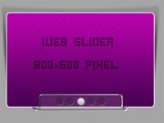 Web Slider with shadow