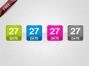 Date icons