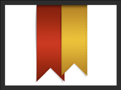 Red & Yellow Ribbons