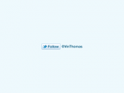 Twitter Follow Button PSD