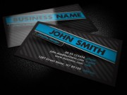Free Dark Business Card