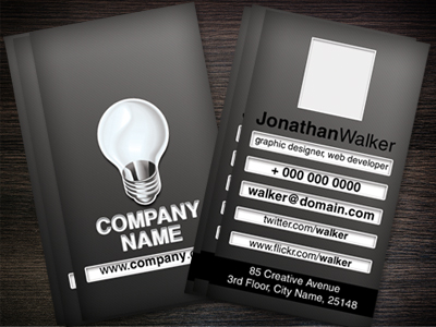 Designer Or Web Developer Business Card Clipart Picture