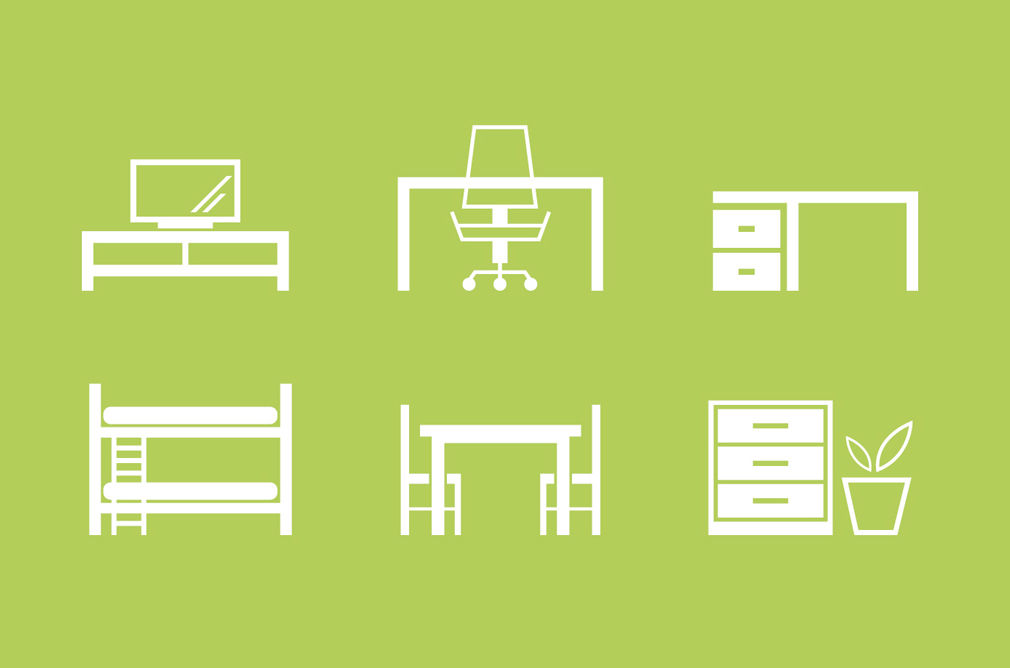 Furniture Icons Cliparts Clipart Me
