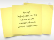 Yellow Sticky Note (Free PSD)