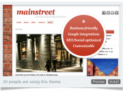 Mainstreet Tumblr theme for businesses