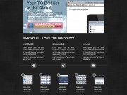 Web & iPhone app Layout