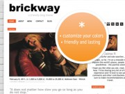 Brickway Tumblr Theme