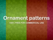 Seamless ornament pattern (Free PNG)