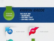 Combinations of Badges and Ribbons