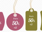 Price tags set (Free PSD)