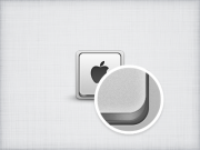 Apple keyboard Icon PSD