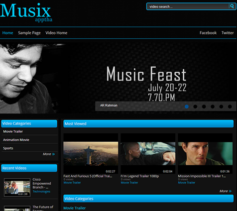 Free Musix - Tuning WordPress Theme For Music Clipart and