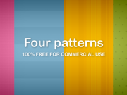 Four patterns (Free PNG)