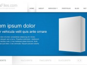 Corporate website template (Free PSD)