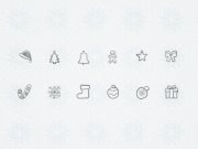 Free Christmas Hand Drawn Icons
