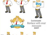 Business Guy Mascot Pack