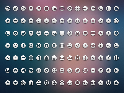 Loops Icon Set