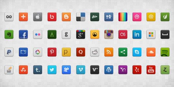 how to add social sharing icons to website