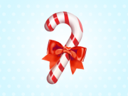 Candy Cane Icon (PSD)