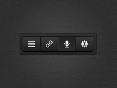 Small Toolbar(PSD)